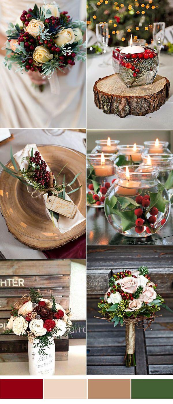 christmas wedding ideas
