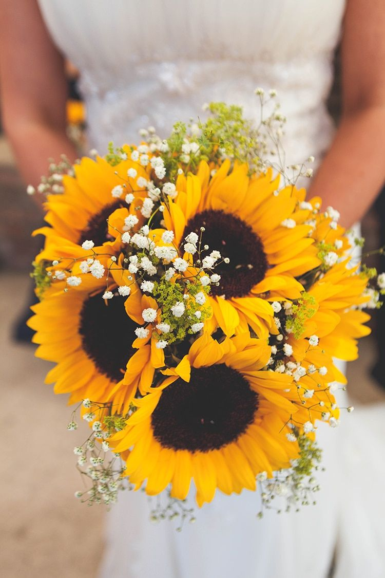 sunflower wedding ideas