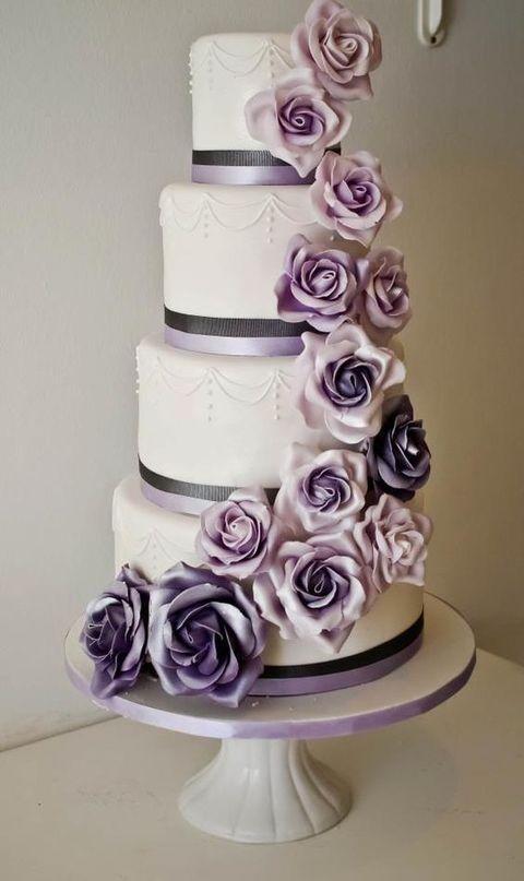 purple wedding color ideas