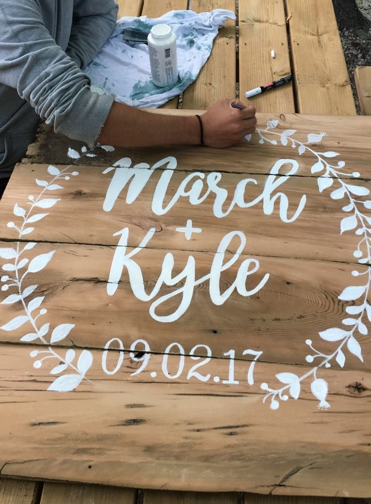 28 Awesome Diy Wedding Signs That Are In Style Chicwedd