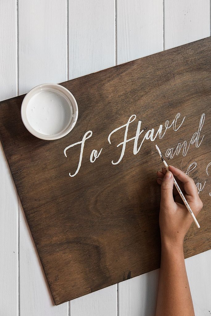 Awesome DIY Wedding Signs That Are in Style