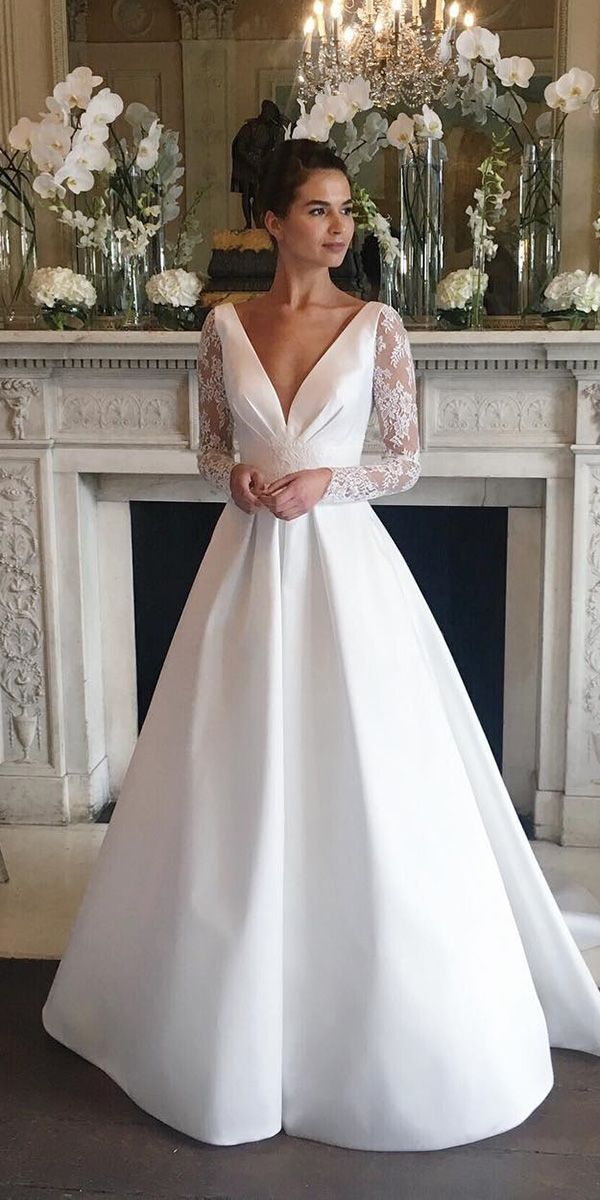 Wedding Dresses with Long Sleeves for Every Bride to Stand Out