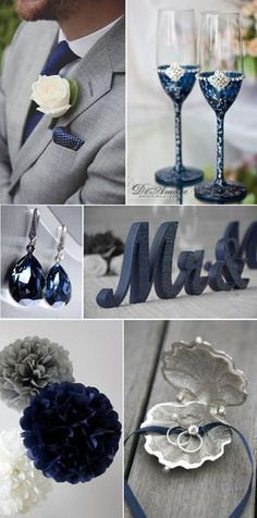 Grey wedding color ideas