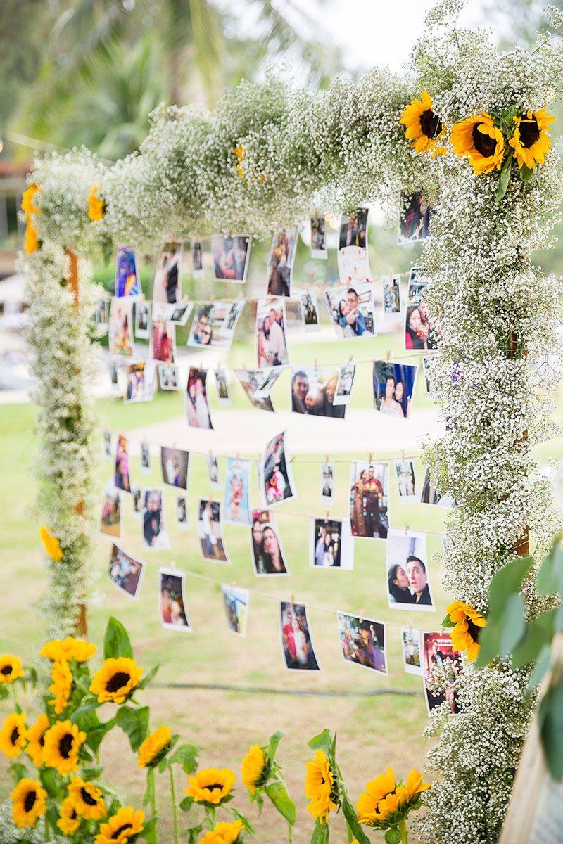 Sunflower wedding ideas