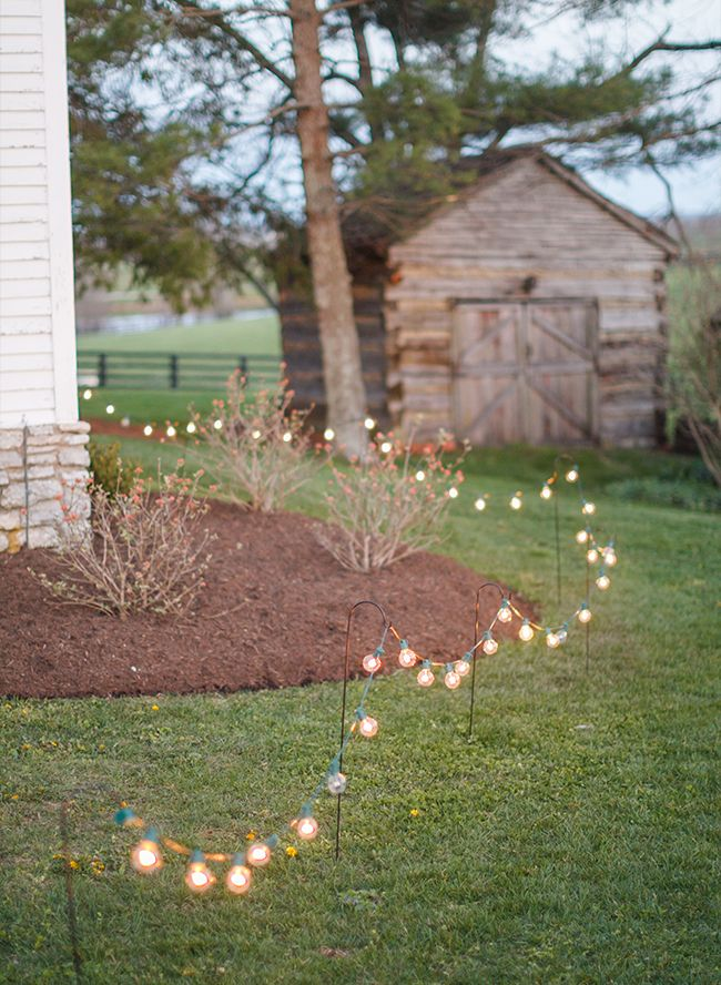 Chic and Romantic Wedding lightings Ideas