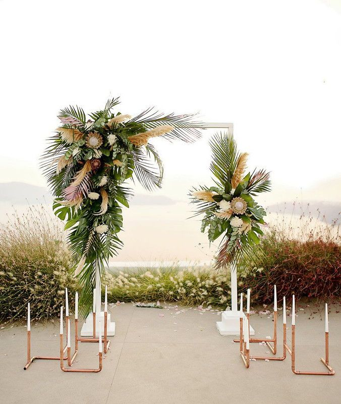 Eye-catching Tropical Wedding Ideas to Rock