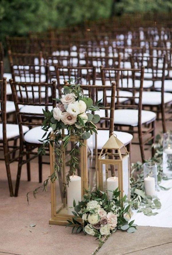 12 Stylish Outdoor Wedding Aisle Décor Ideas - ChicWedd