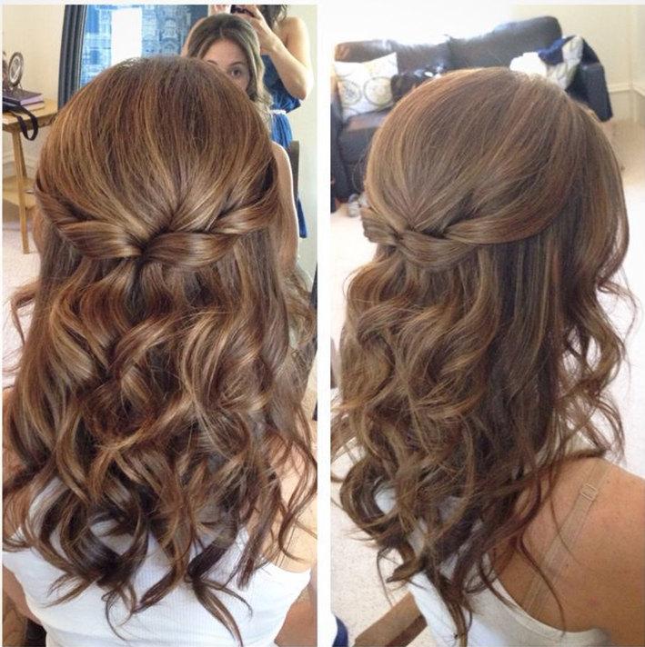 25 Amazing Half Up Half Down Wedding Hairstyles , ChicWedd