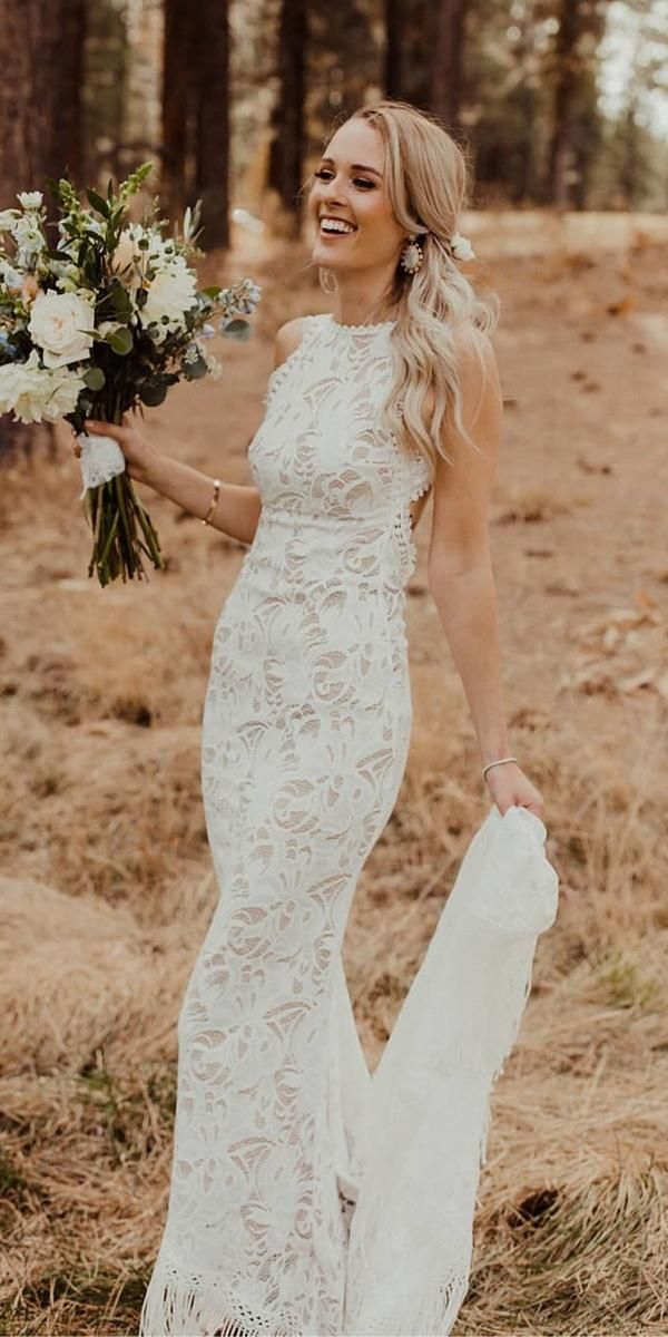 Timeless Lace Wedding Dresses with Amazing Details
