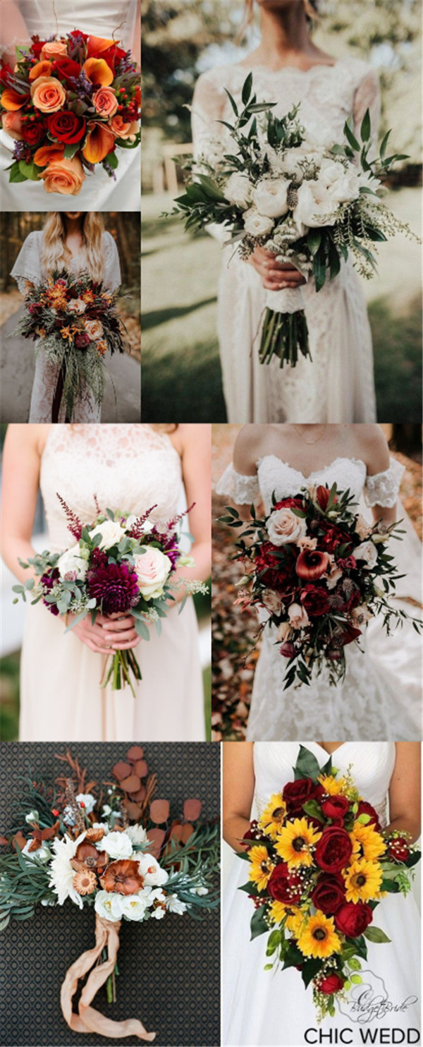 Fall Wedding Bouquets That Are Too Gorgeous Not to Have