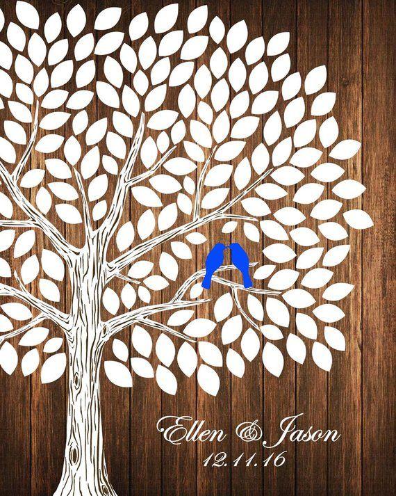Fun and Creative Guest Book Tree Ideas