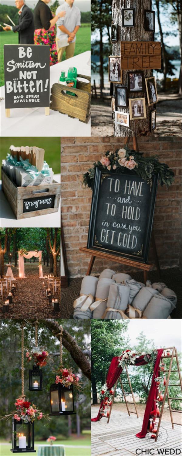 Genius Outdoor Wedding Ideas To Get Inspired