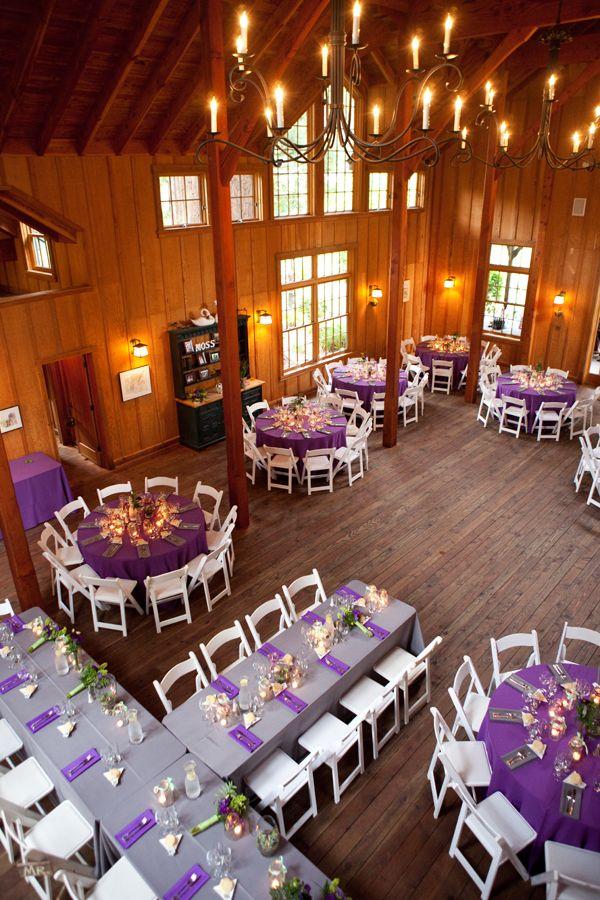 Purple and Grey Wedding Color Ideas