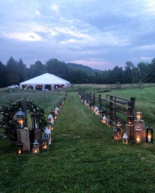 Rustic Farm Wedding Inspirations