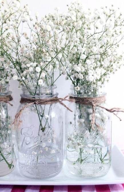 Baby's Breath Wedding Decoration Ideas