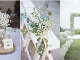 Baby's Breath Wedding Decoration Ideas