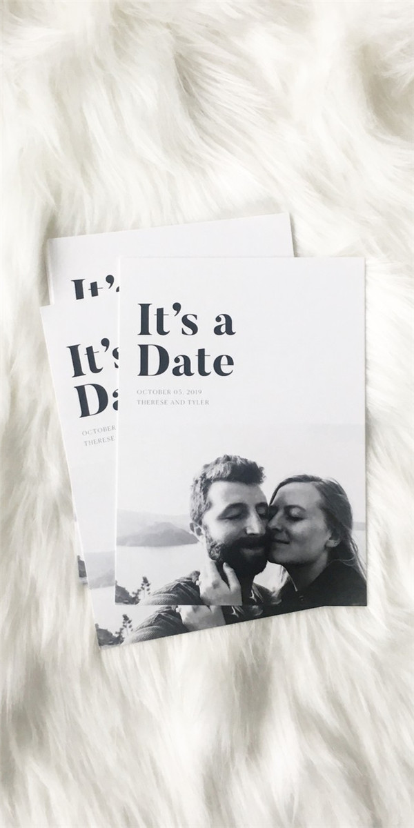 Creative and Unusual Save The Date Card Examples