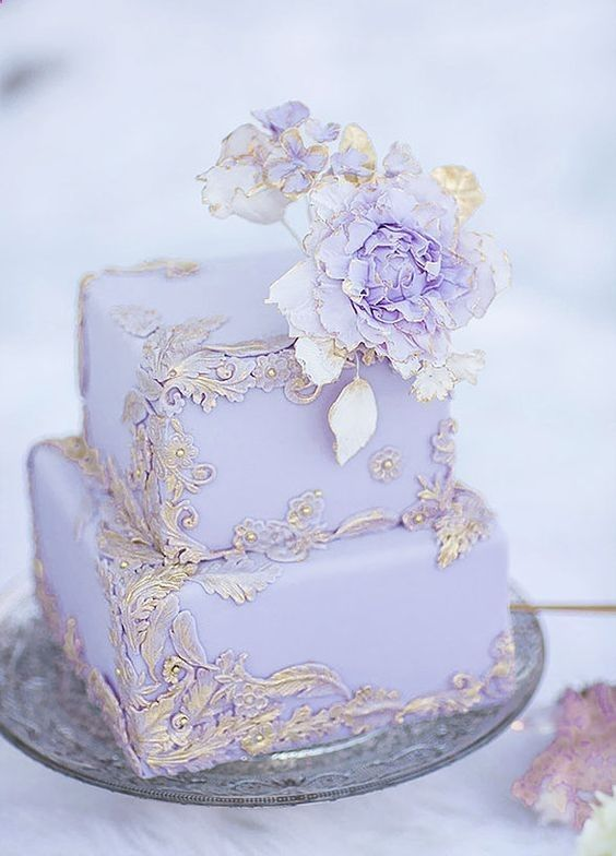 Fun and Nontraditional Mini Wedding Cakes