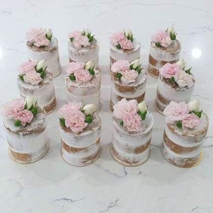 Fun and Nontraditional Mini Wedding Cakes