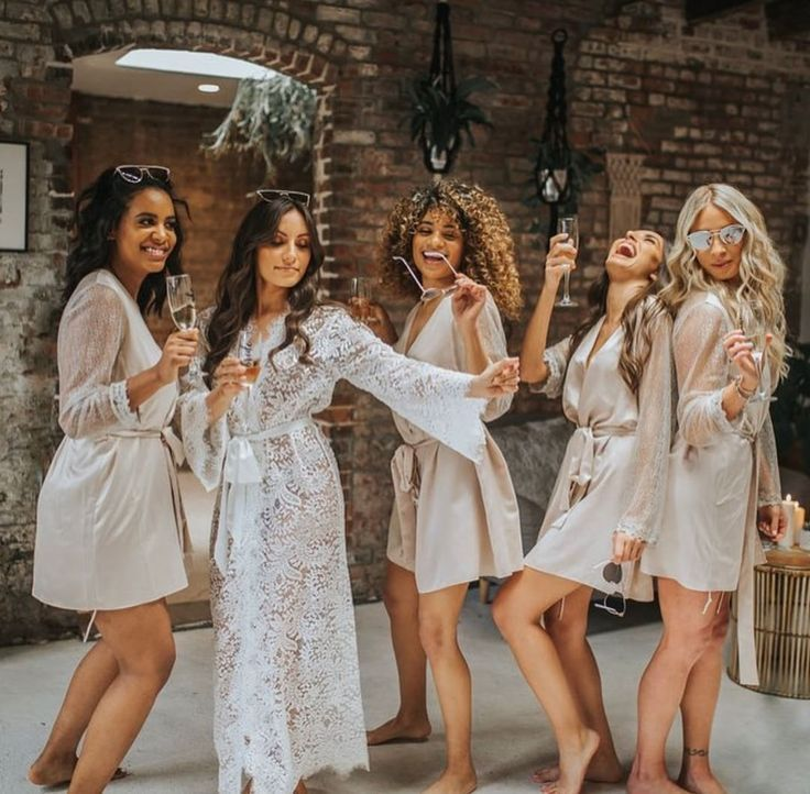Getting Ready Bridesmaid Robes You Can not Miss