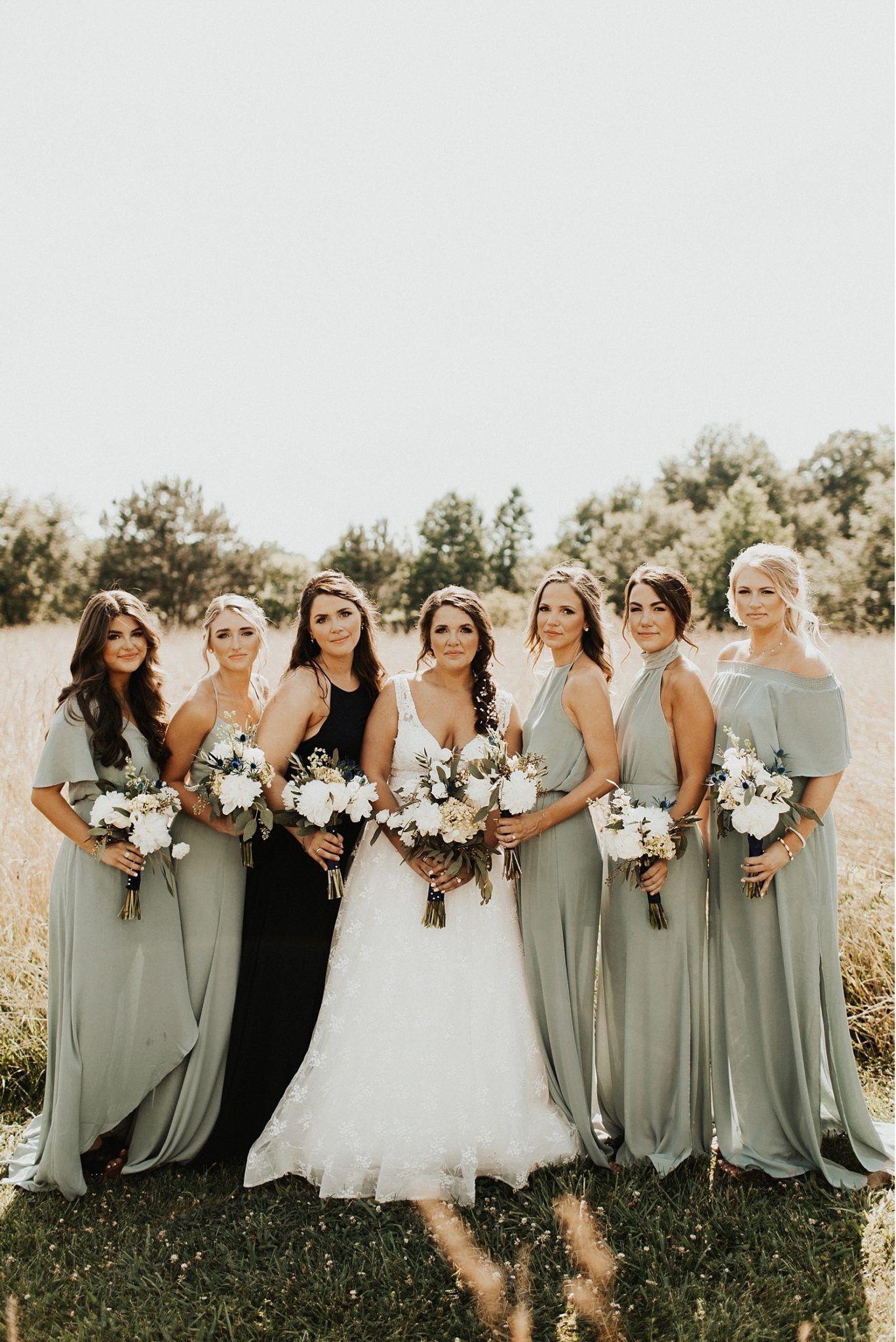 Romantic Bohemian Bridesmaid Dresses