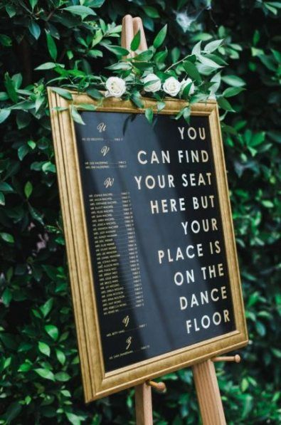 Brilliant Wedding Seating Chart Ideas to Steal