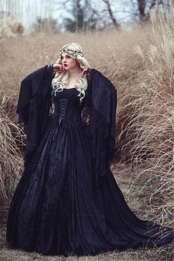 Gothic Wedding Dresses For Every Bride To Stand Out