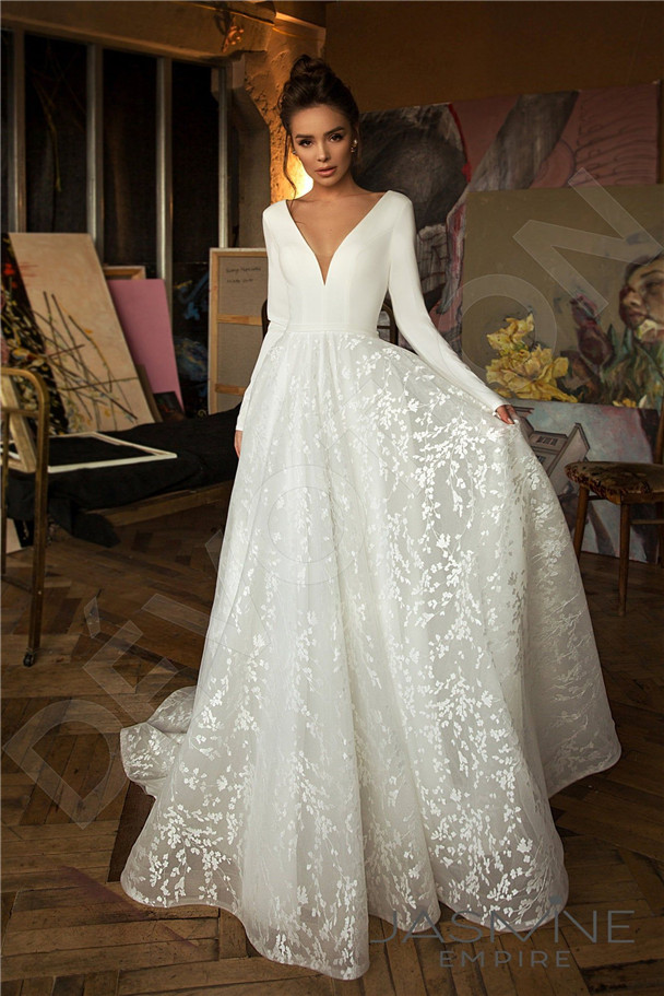 Long Sleeve Wedding Dresses You Will Like