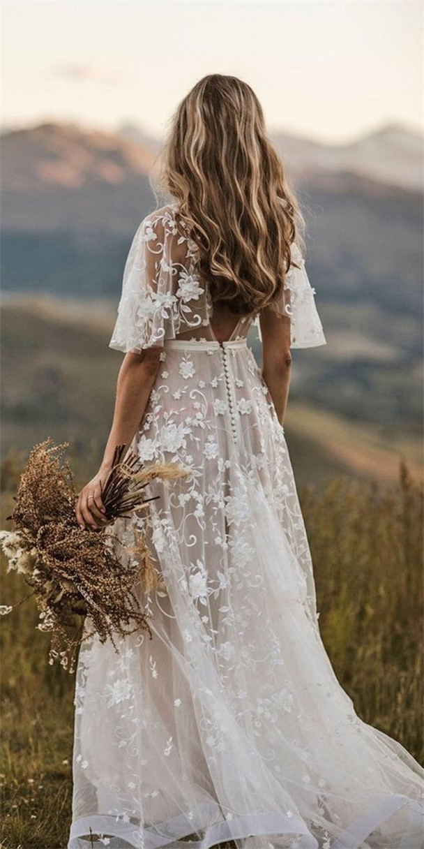 Rustic Wedding Dresses To Inspire