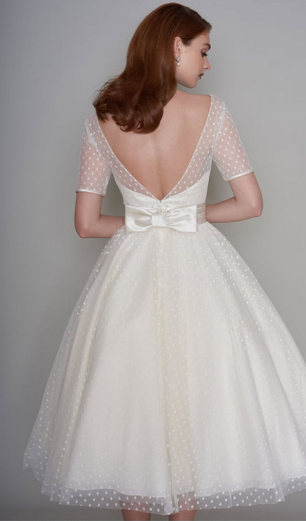 Chic 1950S Inspired Wedding Dresses