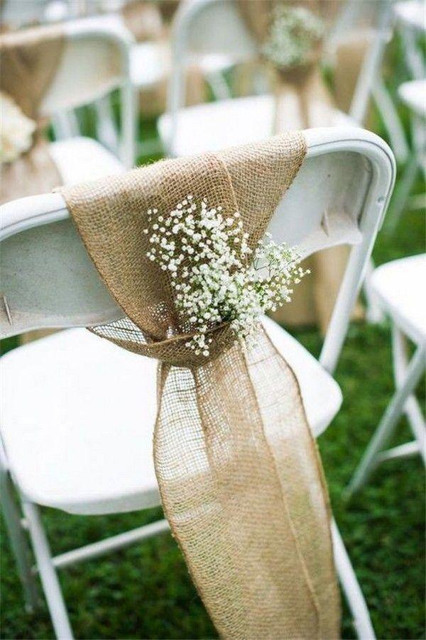 30 Impossibly Pretty Wedding Chair Decorations Chicwedd
