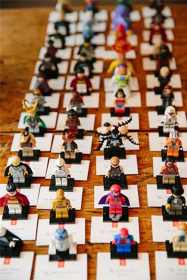 Lego Themed Wedding Ideas