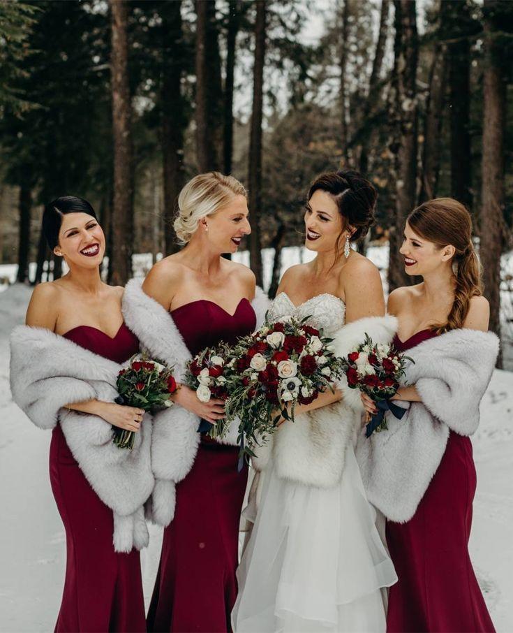 Red Winter Wedding Inspirations