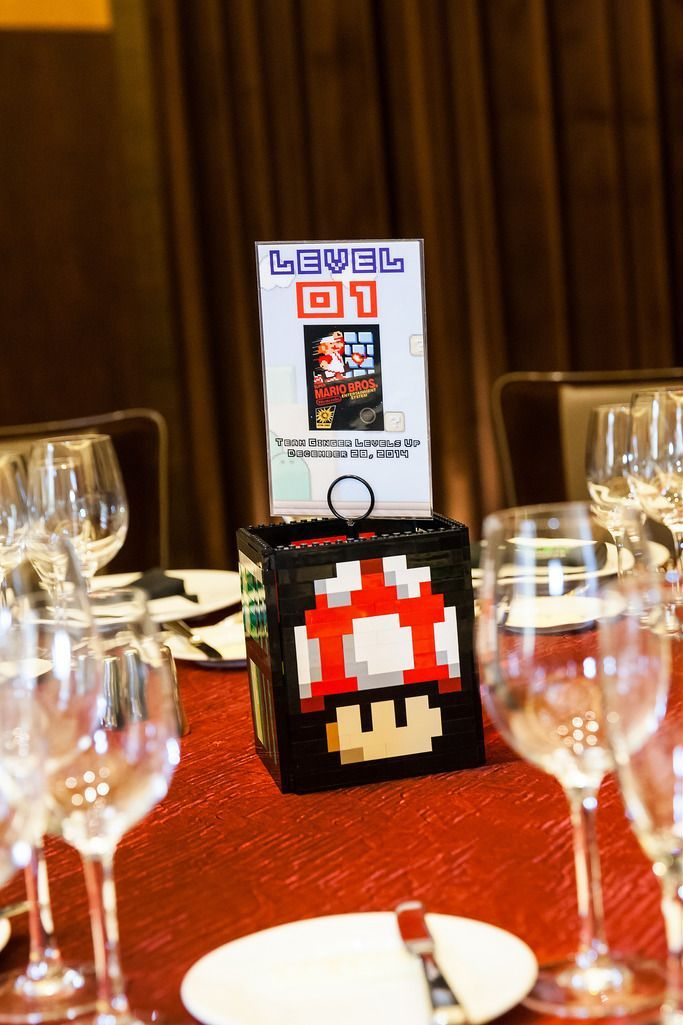 Retro Video Games Wedding