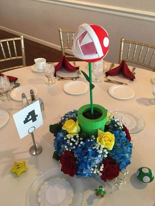 Super Mario Bros Wedding Inspiration