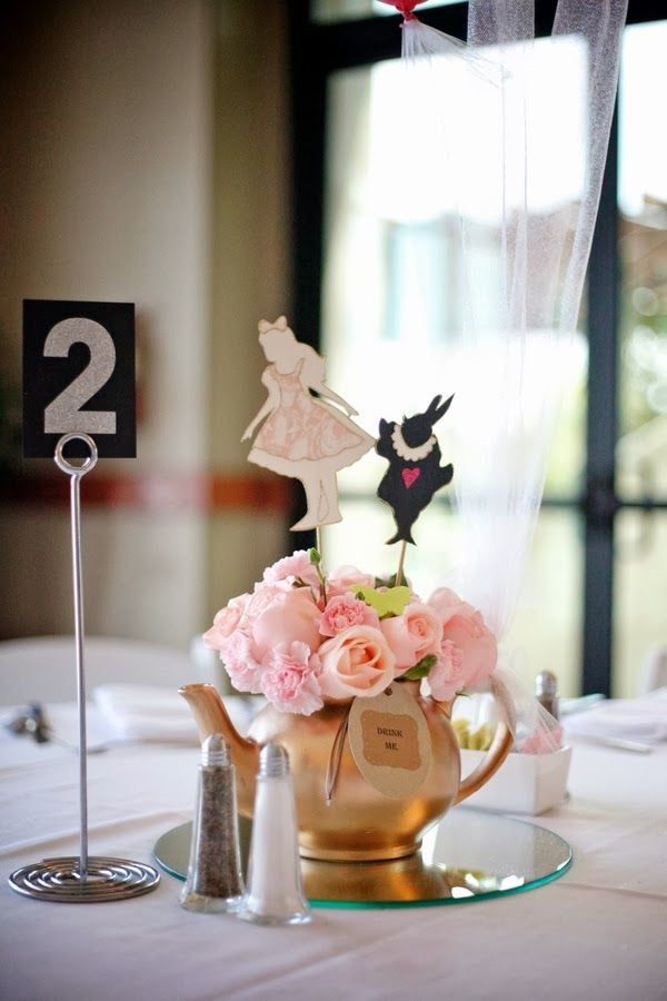 Alice Wonderland Bridal Shower