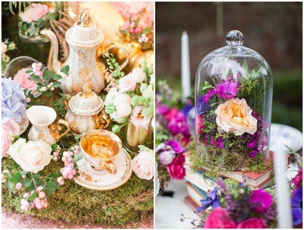 Get Whimsical 31 Alice In Wonderland Bridal Shower Ideas Chicwedd