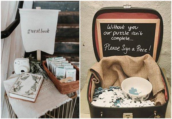 31 Creative Wedding Guest Book Ideas That Inspire Chicwedd