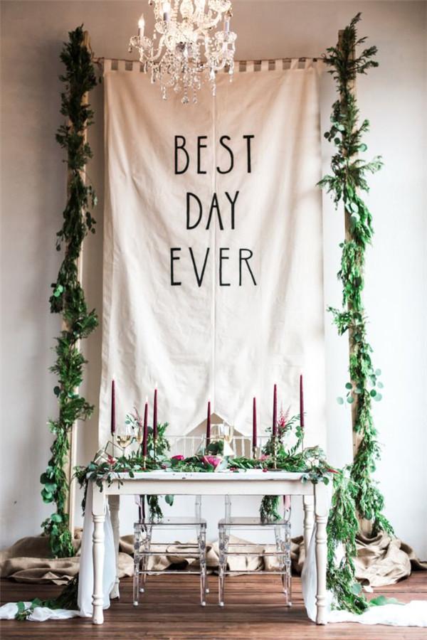 Creative Wedding Reception Backdrops You will Love