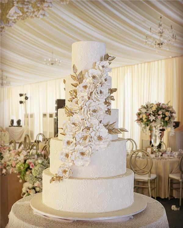 Lace Wedding Cake Ideas