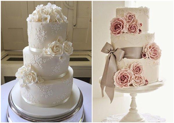 29 Lace Wedding Cake Ideas You Will Enjoy Chicwedd