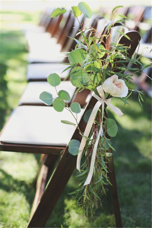 Modern Wedding Aisle Decorations